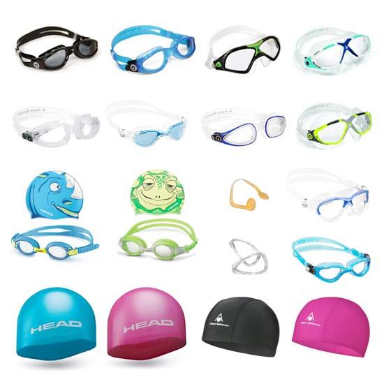 Occhialini Nuoto e Cuffie